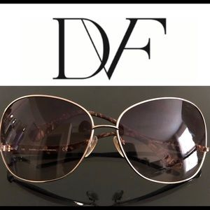 DVF Sunglasses EUC